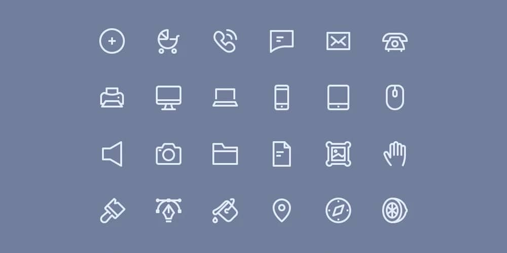 Line Hero Essentials Icons