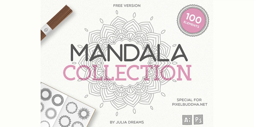 Mandala Vector Illustrations