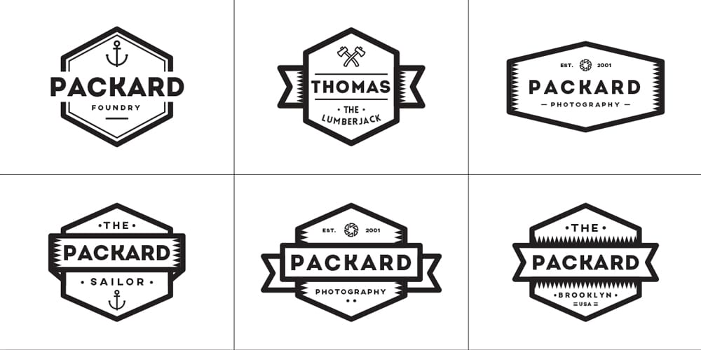 Multipurpose Vector Badges