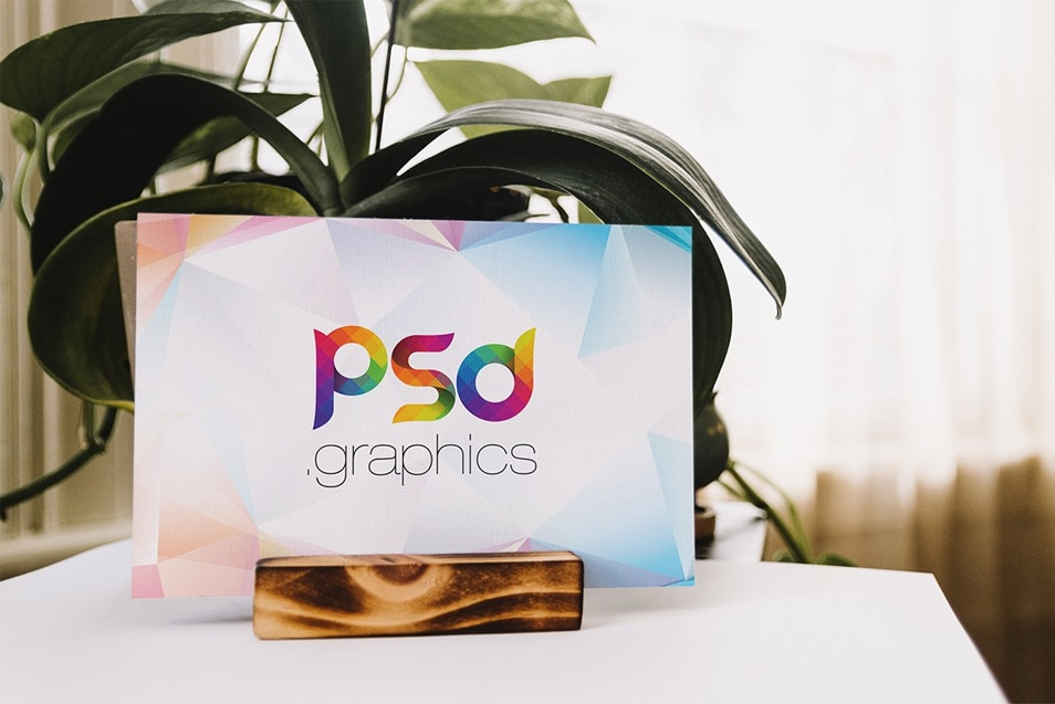 Placard Mockup Template PSD