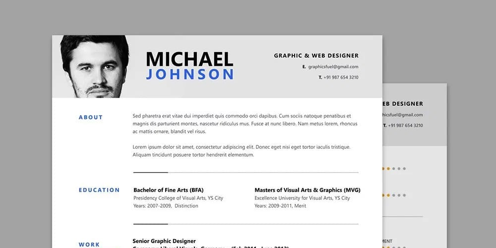 Resume-CV-Template-PSD