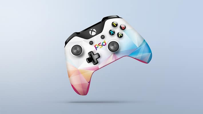 Xbox One Controller Mockup PSD