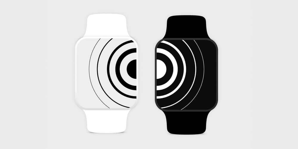 Apple Watch Vector Mockups
