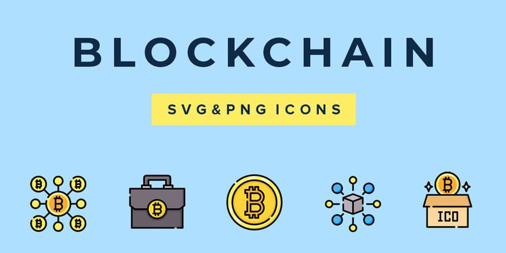 Blockchain Vector Icons