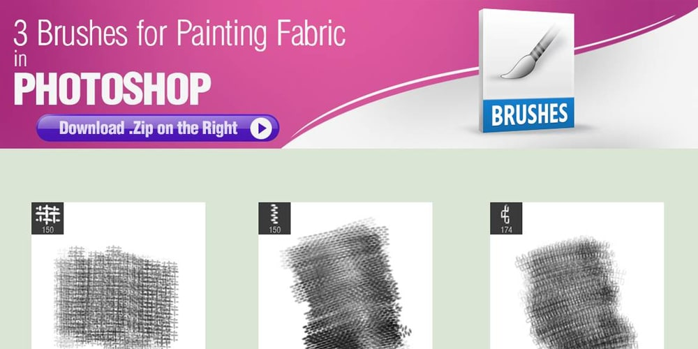 Brushes for Painting Fabric