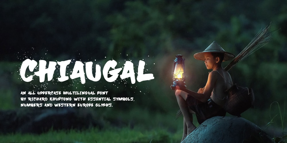 Chiaugal Handwritten Brush Typeface