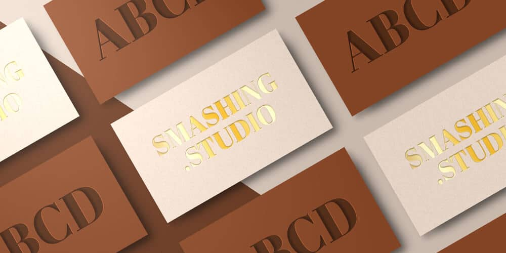 100 Free Business Card Mockups Psd Css Author