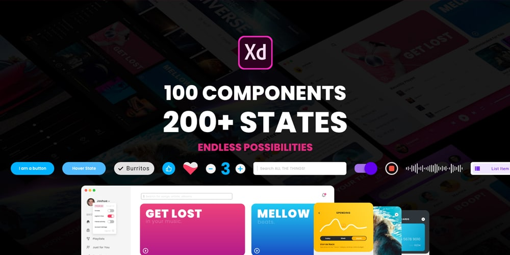 Component States UI Kit