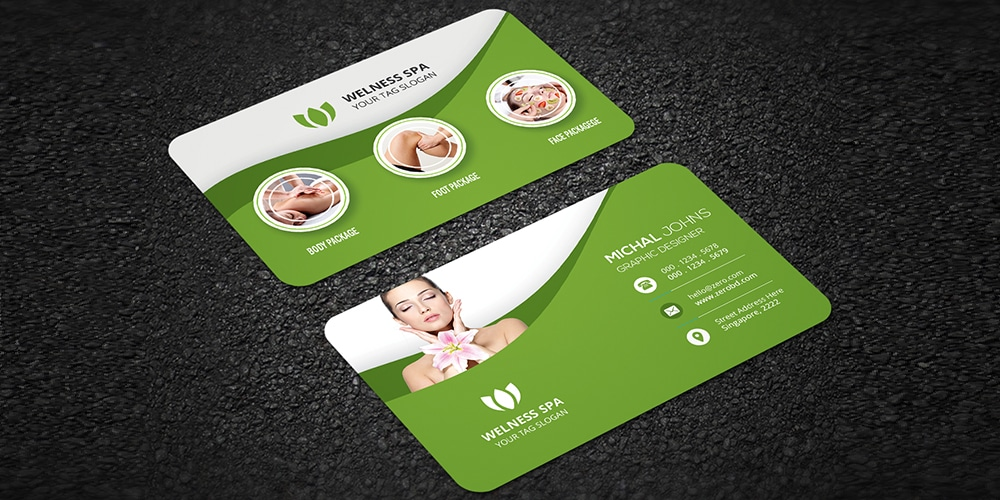 Free Mockup PSD For Business Card