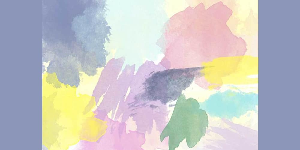 Hi Res Watercolor Photoshop Brushes
