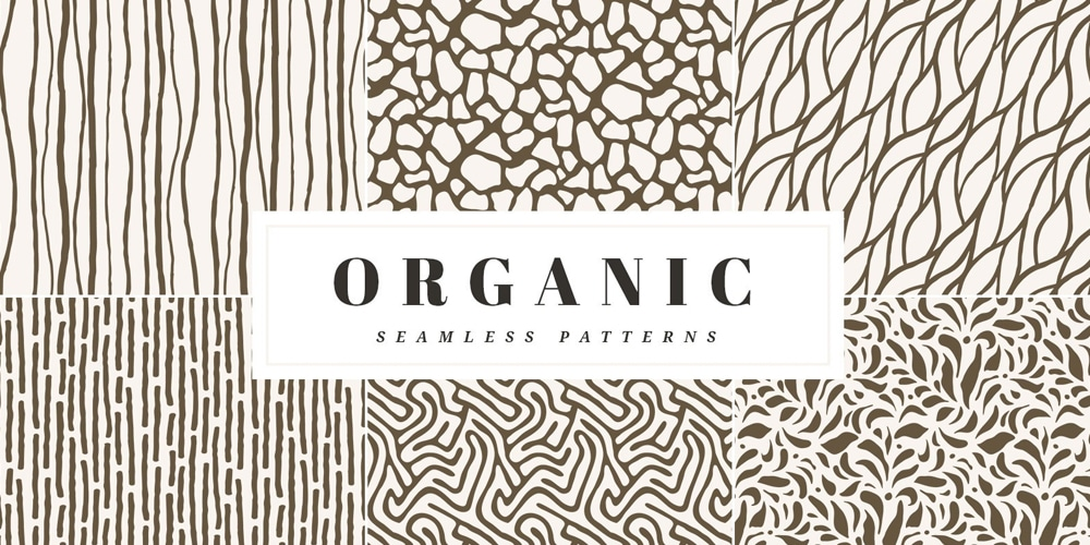 Organic Seamless Vector Patterns