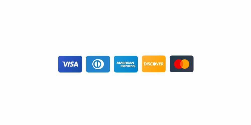 Vector Credit Card Icons