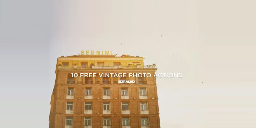 Vintage Photography Actions