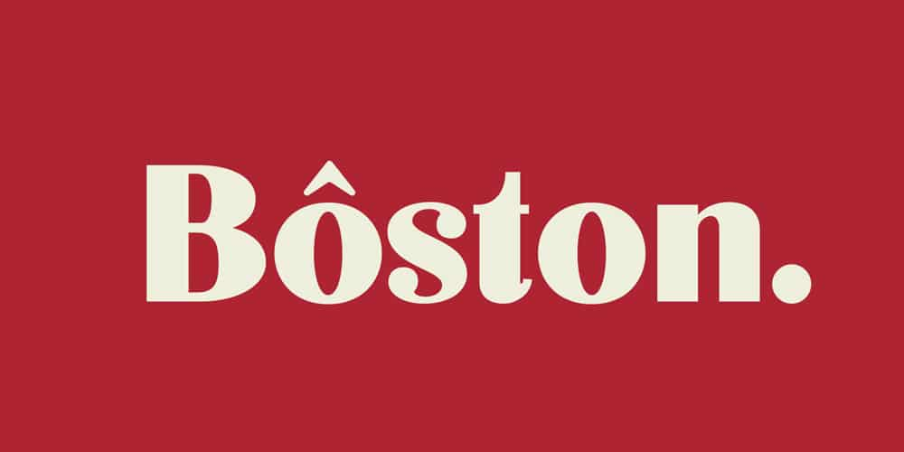 Boston Font