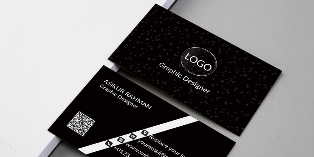 Business Card Download With Mockup