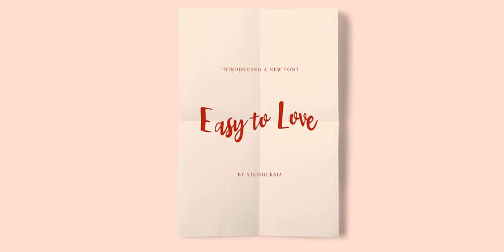 Easy to Love Font