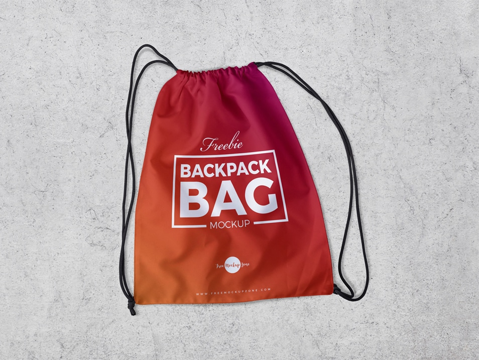 Free Backpack Bag Mockup PSD