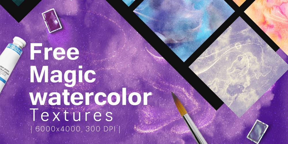 Free Magic Watercolor Textures