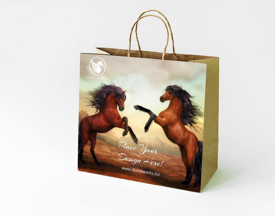 Free Paper Shopping Bag Mockup