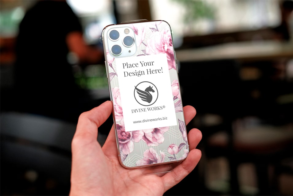 Free iPhone 11 Pro Max Case Mockup PSD