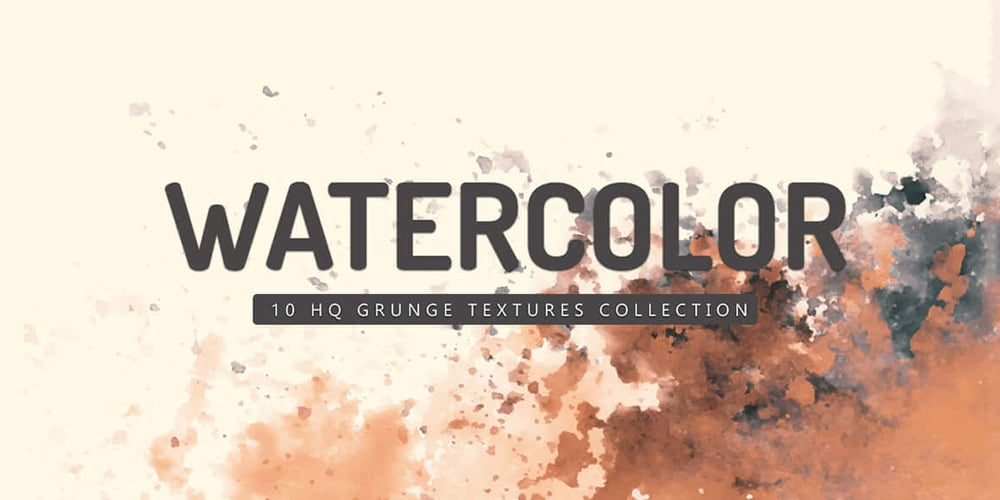 Grunge Watercolor Textures