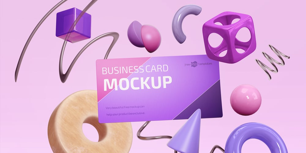 Photo-realistic Business Card Mockup Design