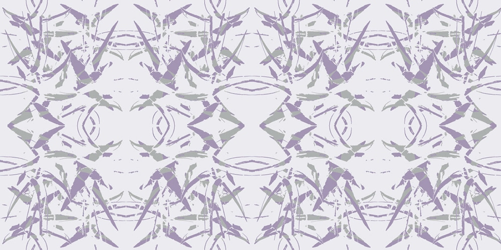 Sharp Flower BG Illustrator Pattern