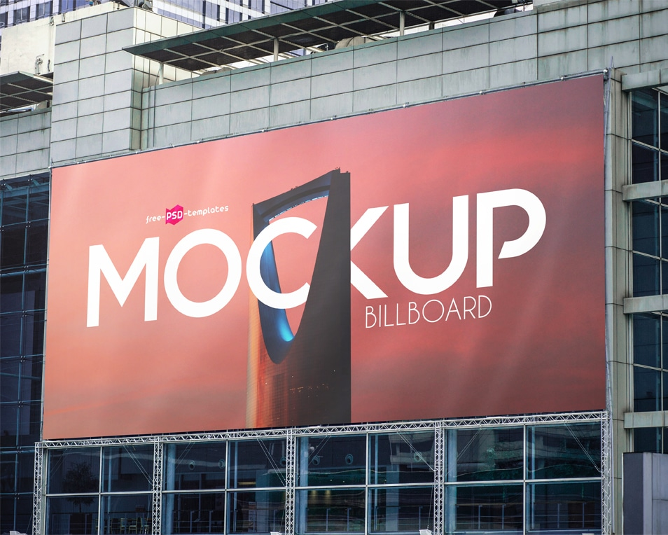 2 Free Billboard Mock-ups in PSD