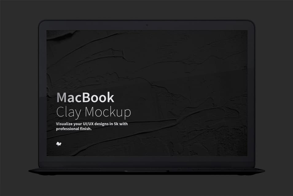 Clay MacBook Mockup