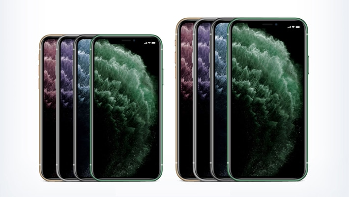 Free Apple iPhone 11, iPhone 11 Pro & iPhone Pro Max in PSD