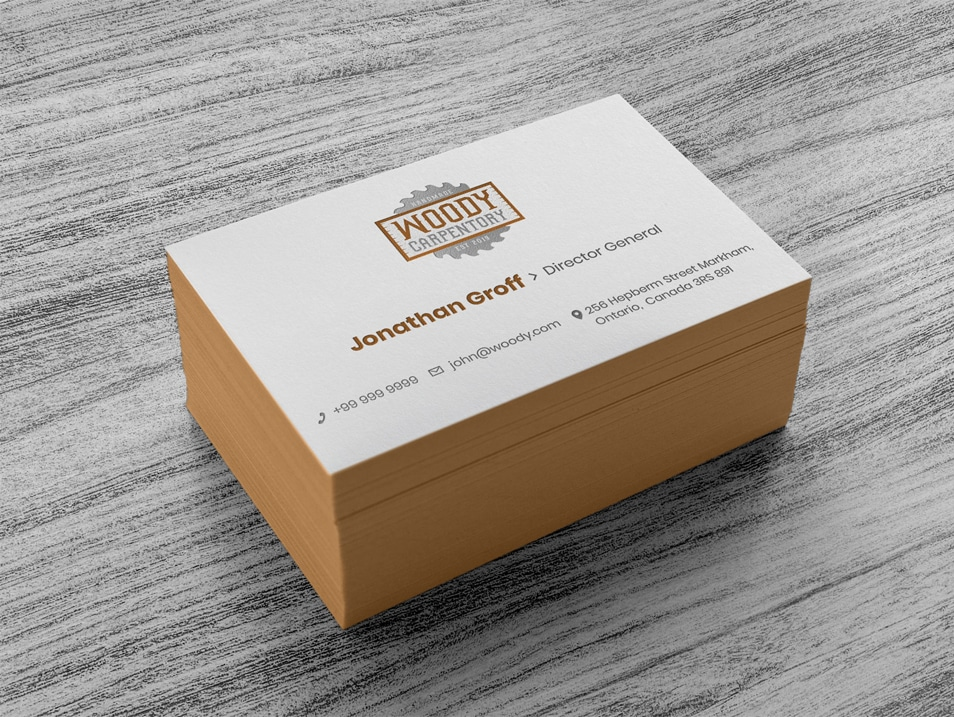 Free Logo Design, Business Card Template & Mockup PSD