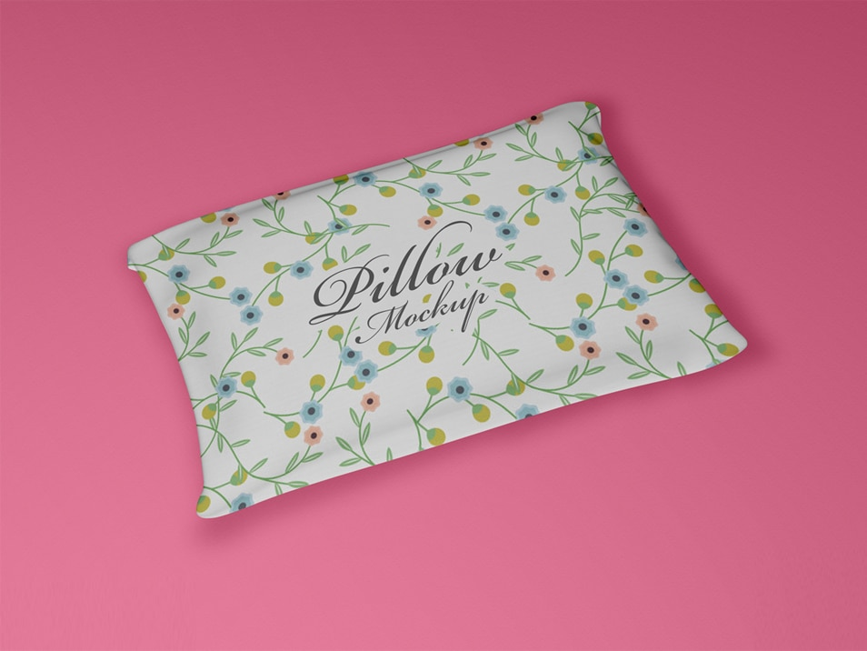 Free PSD Pillow Mockup