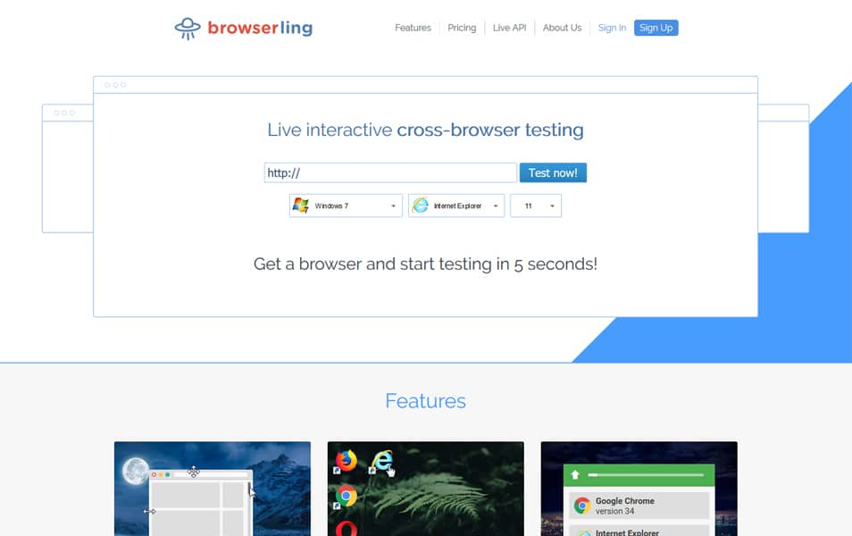 Browserling - Cross-Browser Testing Tools