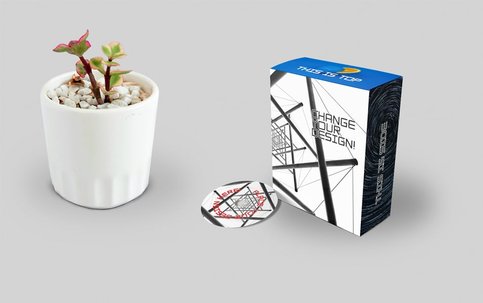 Free Software Box And CD Mockup