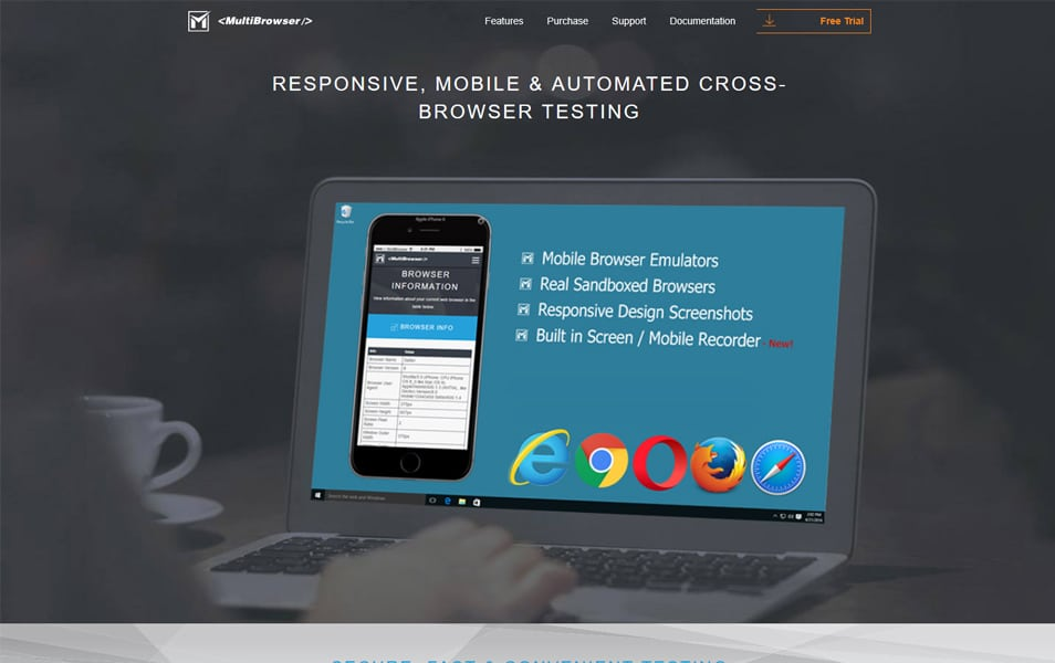 MultiBrowser - Cross-Browser Testing Tools