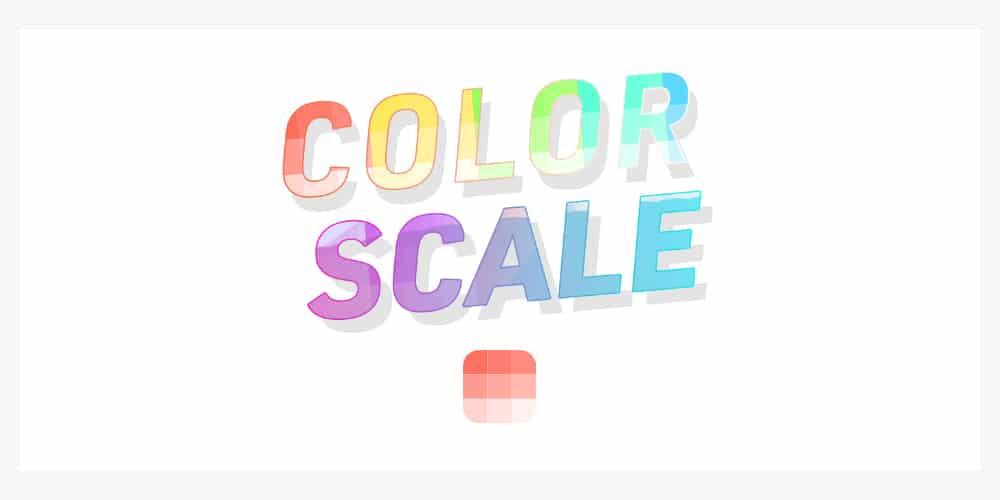 Adobe XD Color Scale