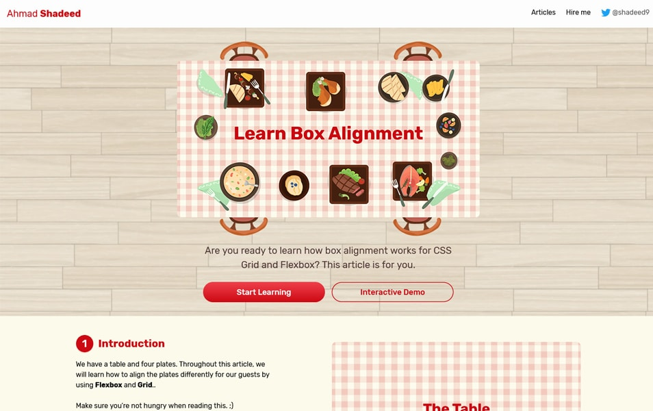 Learn Box Alignment