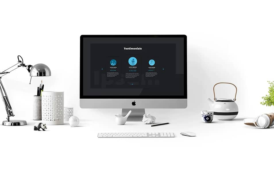 Animated iMac Mockup