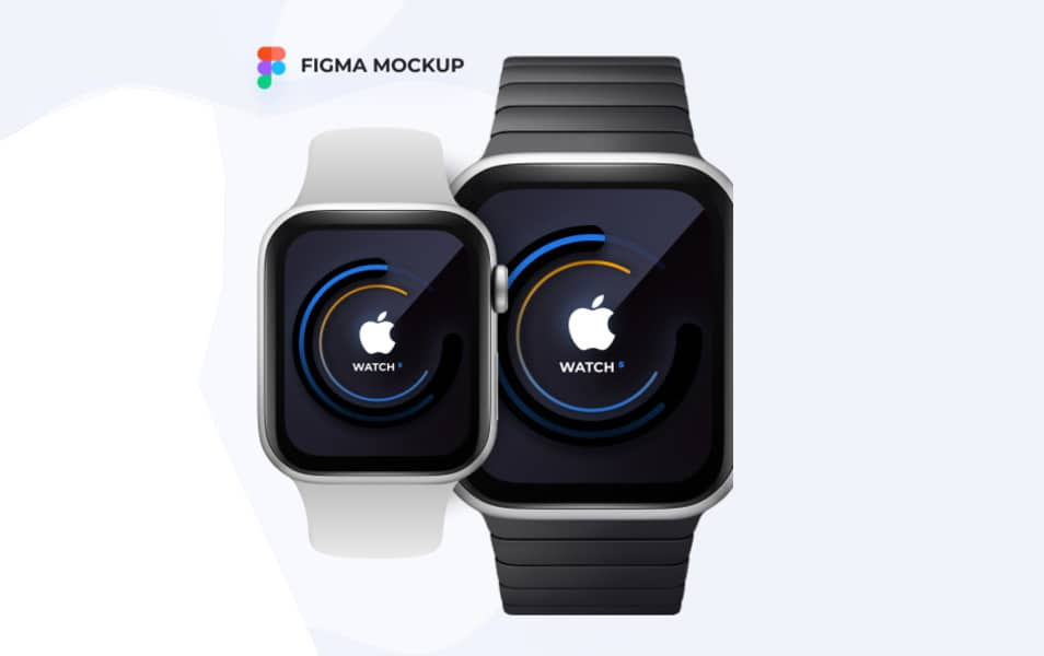 Free Apple Watch Figma Mockup