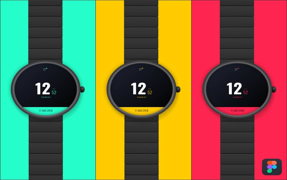 Free Digital Watch Mockup