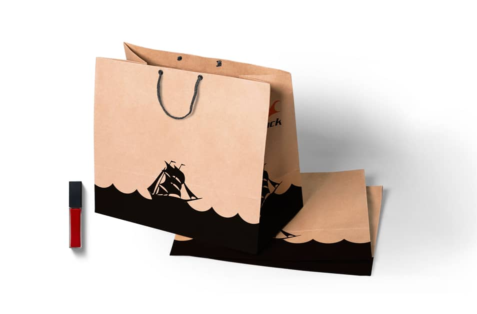 Free PSD Shopping Bag Design Mockup