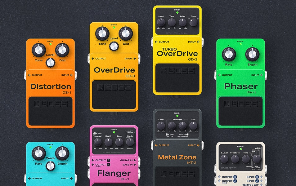 Guitar Effects Made In Figma