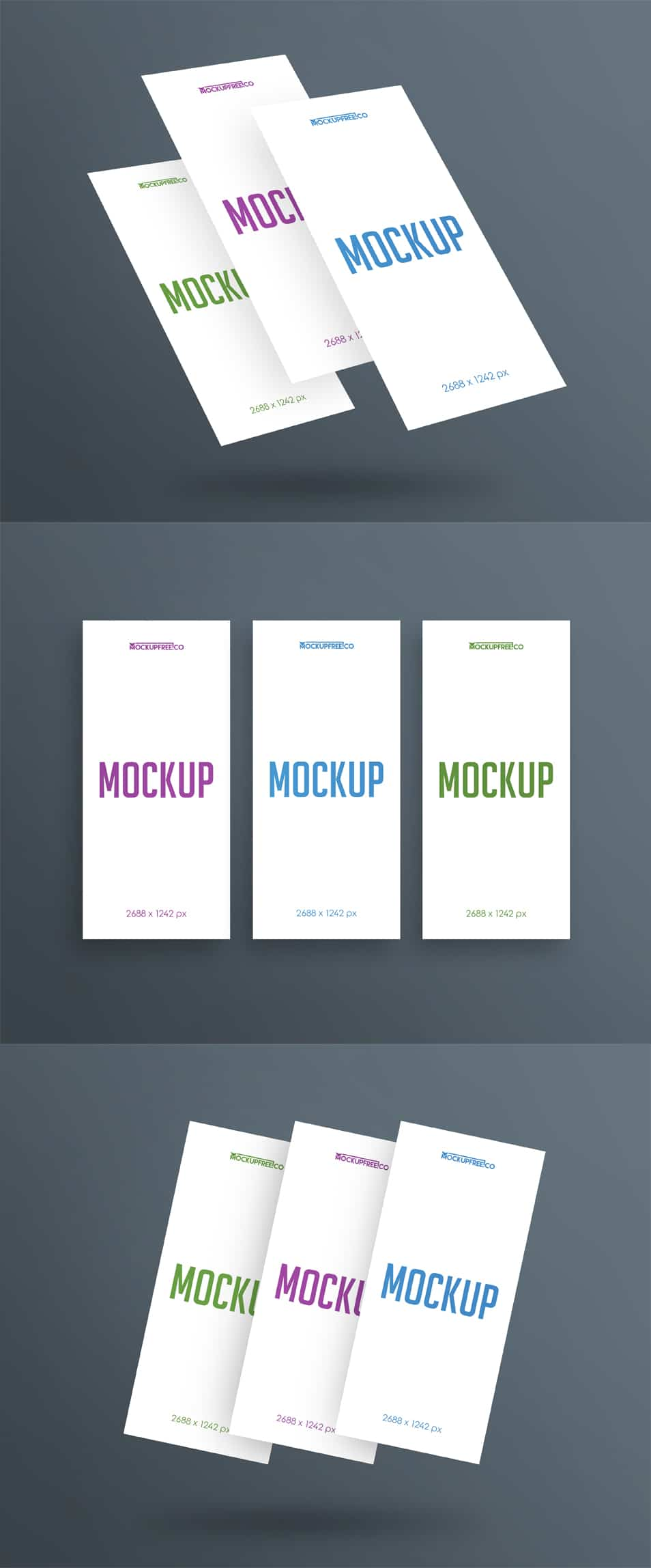 Mobile Display 3 Free PSD Mockups