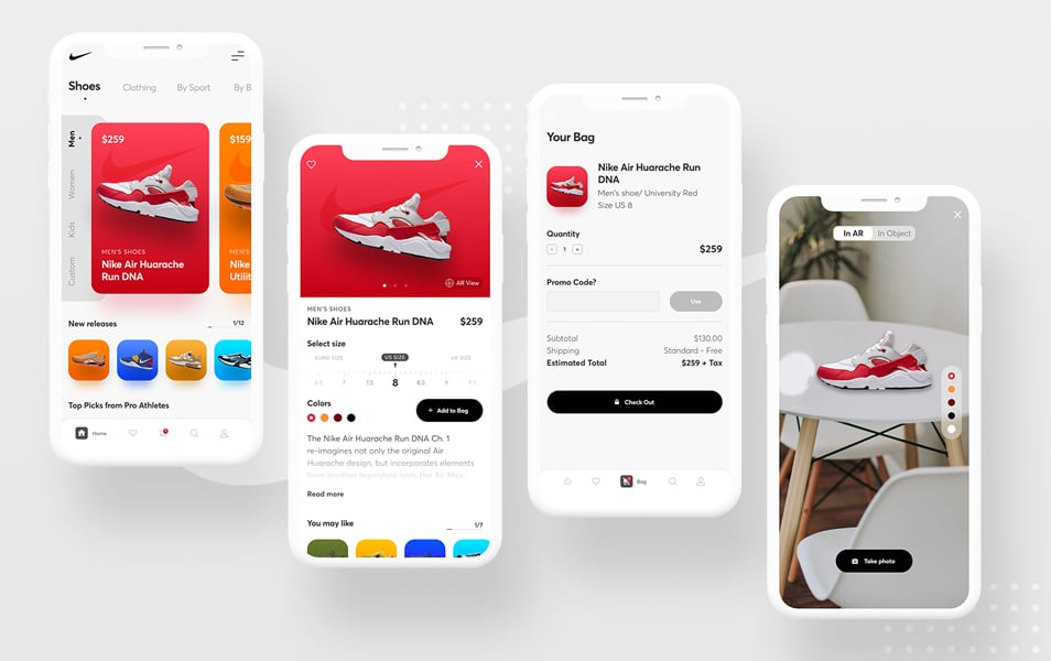 Nike App Concept