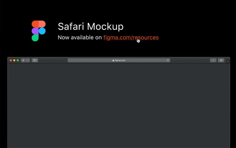 Safari Mockup (Mac OS Mojave edition)