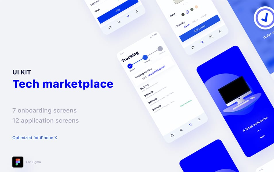 Tech Marketplace UI Kit