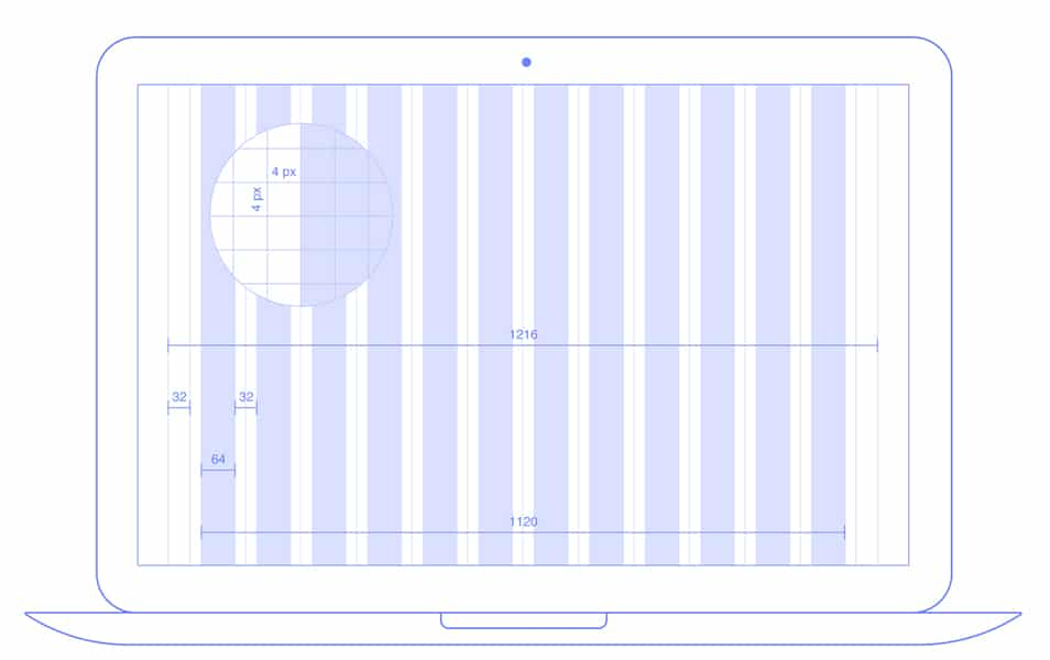 12 Columns Pixel Perfect Grids for Figma