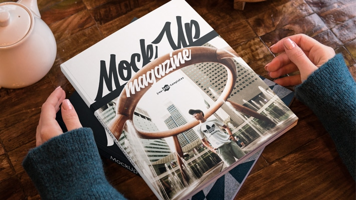 2 Free Magazine Mock-ups in PSD