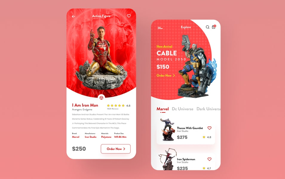 Action Figure Sale App