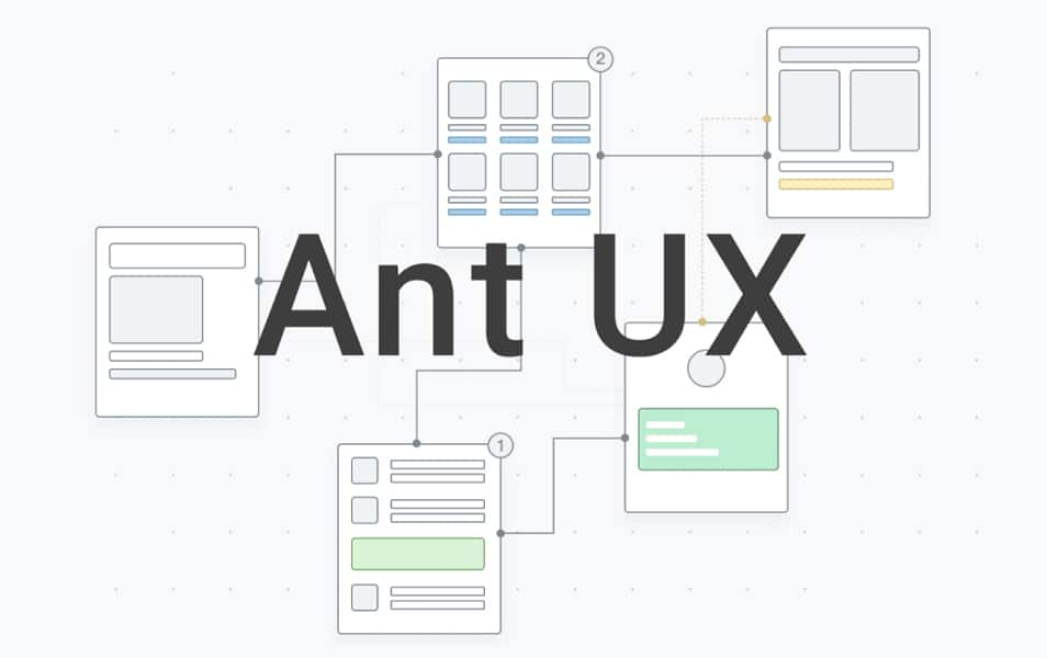 Ant UX Wireframes